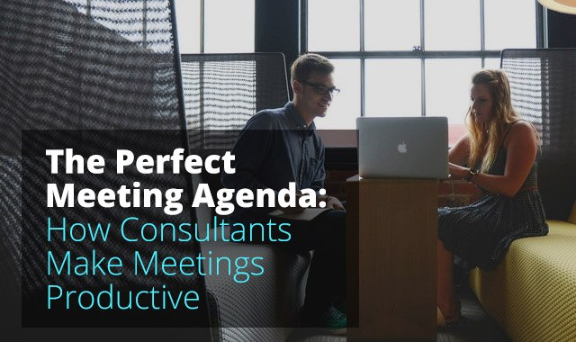 How Consultants Make Meetings Productive