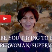 business superwoman or superman
